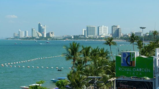 Baywalk Residence Pattaya: North Pattaya from hotel roof