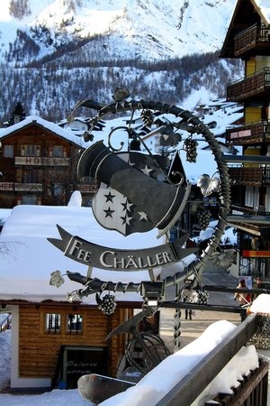 Fee-Challer: Fee Chäller im Sunstar Hotel Beau-Site