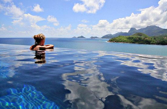 MAIA Luxury Resort & Spa: Maia Signature Villa Swimming Pool