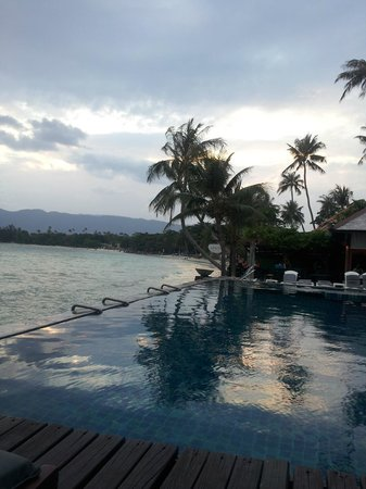 Baan Haad Ngam Boutique Resort & Villas:                   View from pool