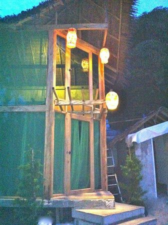 Punto Miguel:                   Beachfront 1 at night