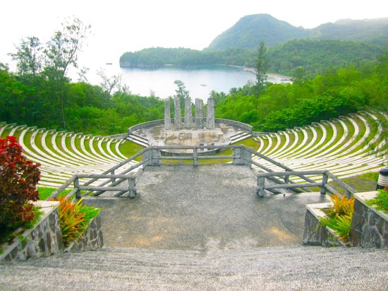 Misibis Bay Resort:                   Amphitheater