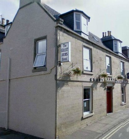 The Grant Arms Hotel in Fochabers