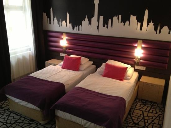 Cosmo City Hotel:                   dubbelrum