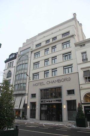 Hotel Chambord: Façade de l'hôtel