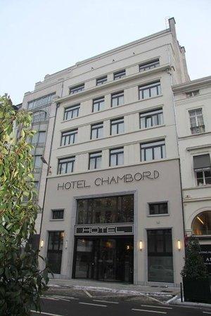 Hotel Chambord: Façade de l'hôtel 2