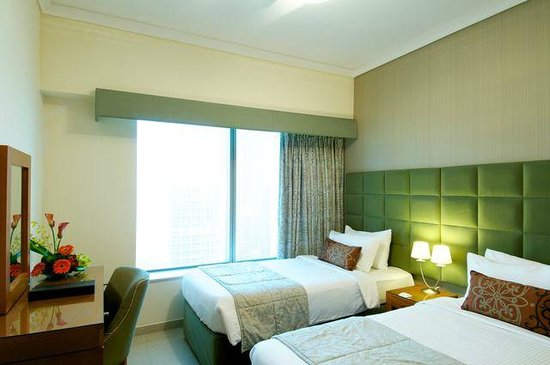 Al Salam Hotel Suites: Twin room
