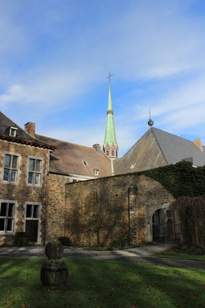 Hostellerie Le Wadeleux :                   abbaye