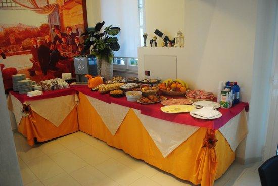 Hotel Eden: buffet