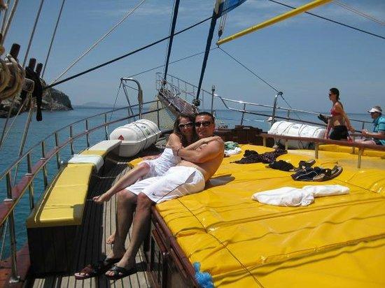 Archipelagos Hotel: boat