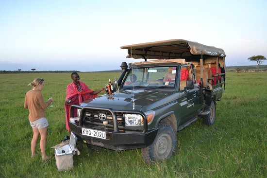 Naboisho Camp, Asilia Africa:                   Our Safari 4WD
