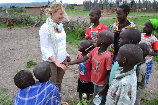 Naboisho Camp, Asilia Africa:                   Masai Village Visit