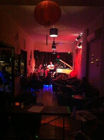 Bernie's Jazz and Piano Cafe:                                     Who would of thought, jazz in Cairns. Relaxed and real.