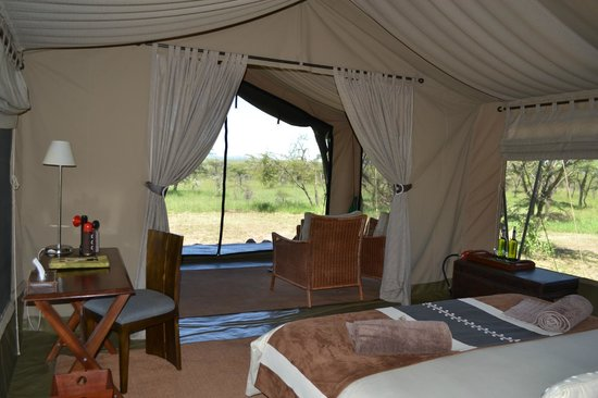 Naboisho Camp, Asilia Africa:                   Very spacious tent