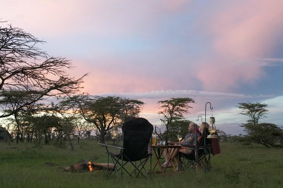 Naboisho Camp, Asilia Africa:                   Sunset Fly Camp