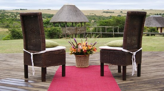 Hlosi Game Lodge:                   No better place to do it all again than right here at Hlosi