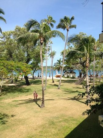 Shangri-La's Fijian Resort & Spa:                   the view from our room. number 249