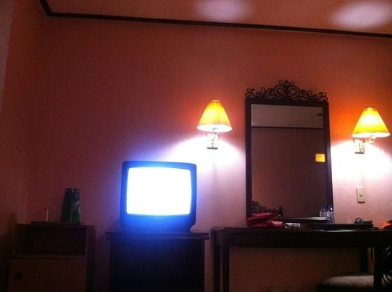 Don Felipe Hotel:                   look at the tv and lighting