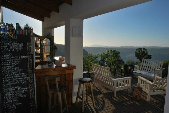 African Array Lodge:                   sunrise