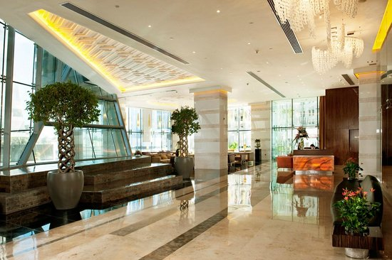 Fraser Suites Doha: Lobby الوبى
