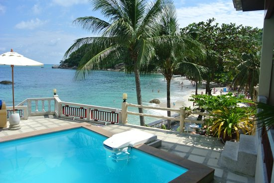 Crystal Bay Beach Resort:                   la plage