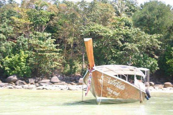 Viking Natures Resort : resort boat-taxi :)