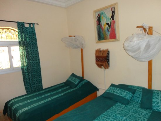 La Venise Malienne: chambre verte