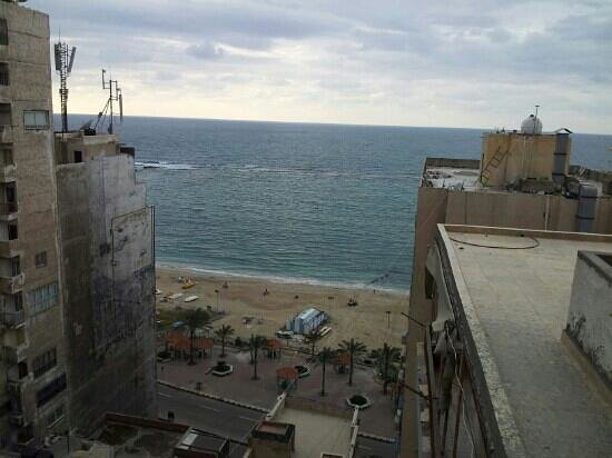 Alexandria Mediterranean Suites :                   the view of the see from my room
