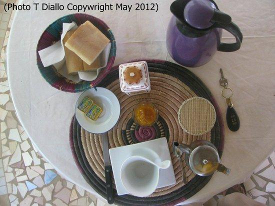 La Venise Malienne: petit déjeuner continental