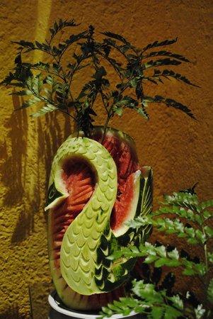IBEROSTAR Paraiso Del Mar:                   Dineren...t zag er altijd prachtig uit