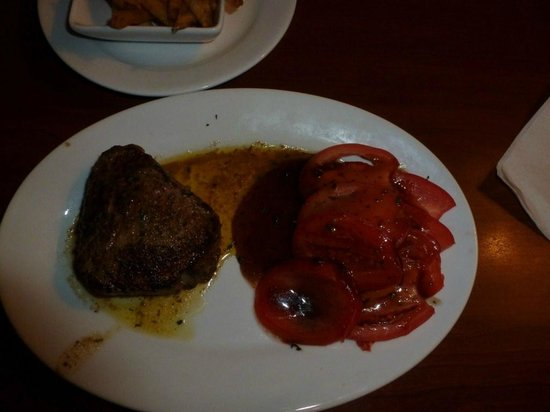 ruby Tuesdays:                   Steak