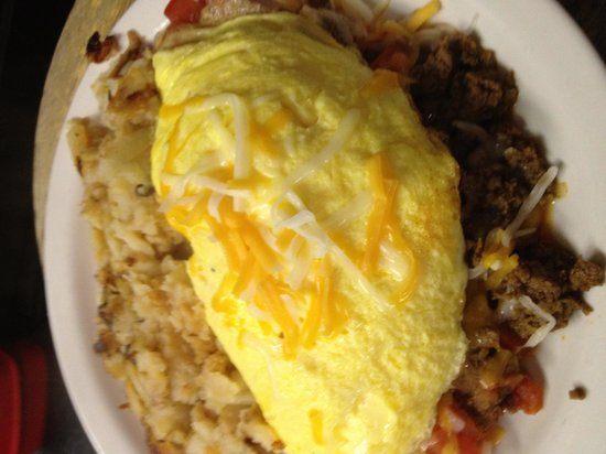 Annamarie's Place:                                     Taco omelet