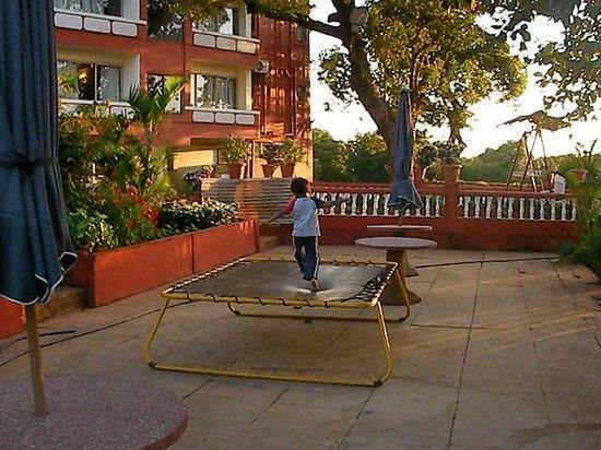 Hotel Uday:                   game zone nearby garden