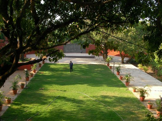 Hotel Uday:                   GROUND AREA TO PLAY & FOR FUNCTION