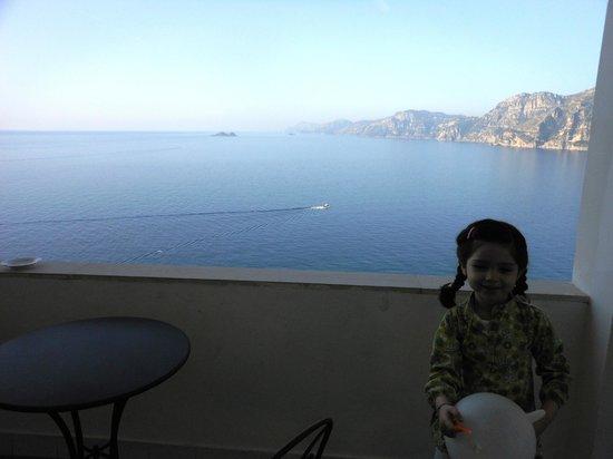Hotel Smeraldo:                   Panorama dalla camera...