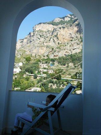 Hotel Smeraldo :                   Panorama dalla camera...