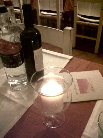 Locanda Zacco:                   il tavolo x 2