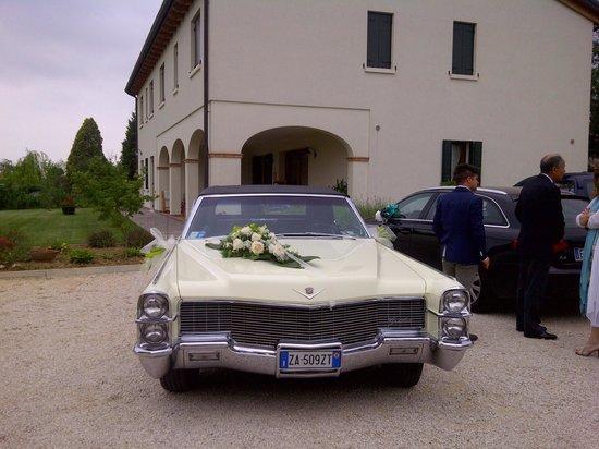 Agriturismo Ai Carpini: Wedding Car