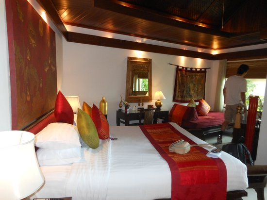 Rocky's Boutique Resort : the room