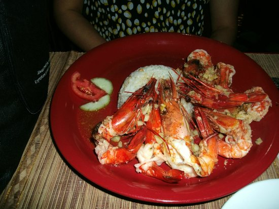 Kokie Restaurant :                   Grilled Prawns