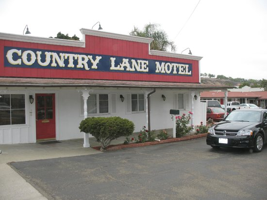 Country Lane Motel:                   the entrance