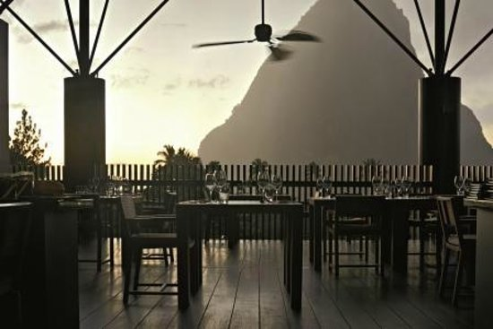 Boucan by Hotel Chocolat: Restaurant at Sunset