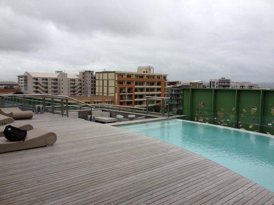 AHA Gateway Hotel:                   pool deck
