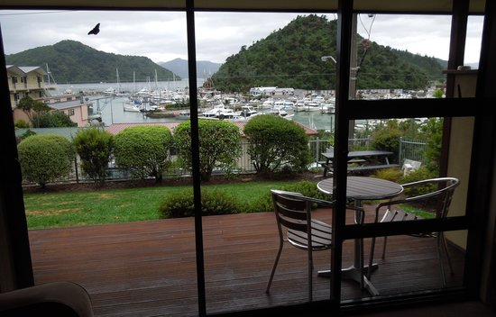 Harbour View Motel Picton: View from our ground floor room