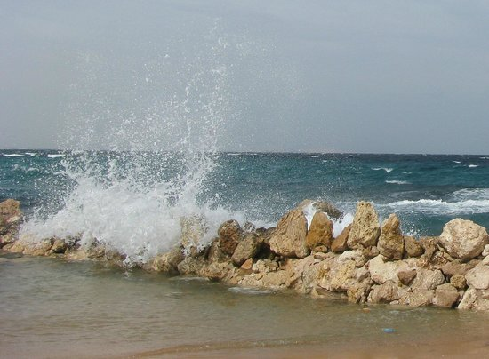 Citadel Azur Resort:                   Февральский шторм