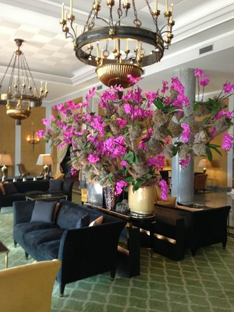 Four Seasons Hotel Ritz Lisbon:                   Lobby