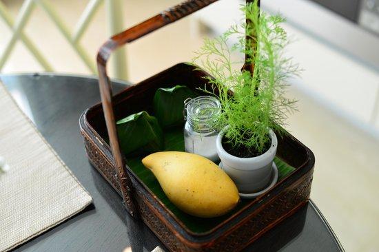 Oriental Residence Bangkok:                   Sticky Mango Rice