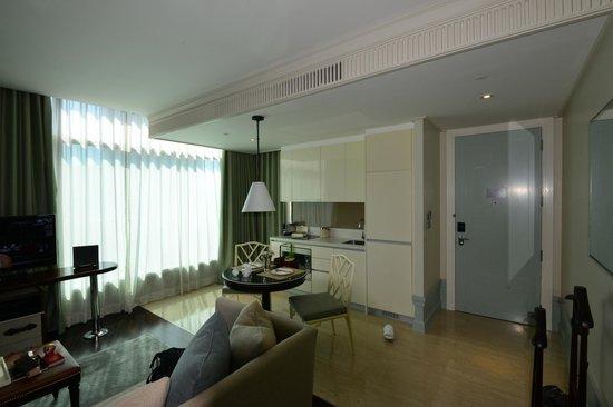 Oriental Residence Bangkok:                   Kitchen