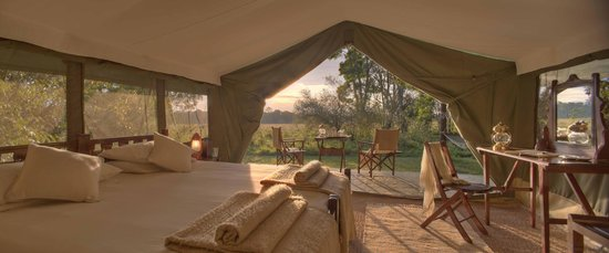 Elephant Pepper Camp: Traditional Luxurious Safari Tent - Sunrise