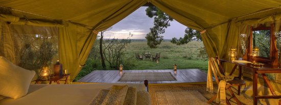 Elephant Pepper Camp: Traditional Luxurious Safari Tent - Private Dining